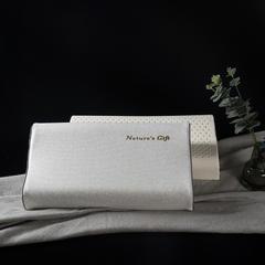 【钢印高端尊品】3岁以上儿童 泰国原装进口纯天然乳胶枕 波浪款 黑色系   波浪枕7/9 x 29 x
