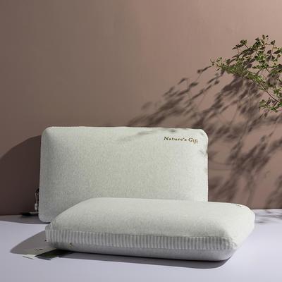 【钢印高端尊品】泰国原装进口纯天然乳胶枕 成人面包枕 非国产 面包枕65*40 *14