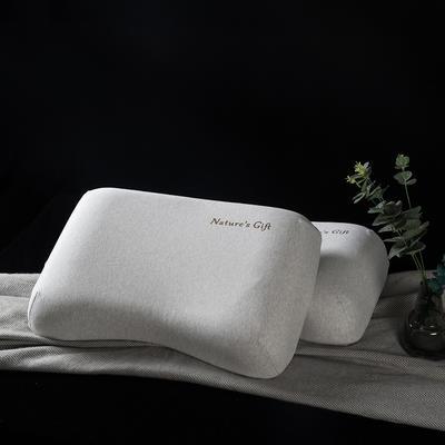 【钢印高端尊品】泰国原装进口纯天然乳胶枕 女士美容枕 防螨 非国产 女士花生56*38*9/10cm