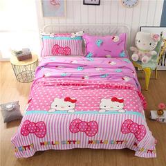 法兰绒毛毯小毛毯毯子珊瑚绒毛毯法莱绒毛毯网销赠品毛毯 230X250cm 缤纷乐园