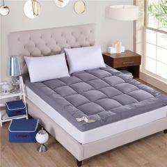 2018新品  羽丝绒床垫立体床垫软床垫 100x200cm 灰色