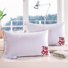 A(01)英伦风love羽丝枕  枕头 枕芯 love英伦风羽丝枕