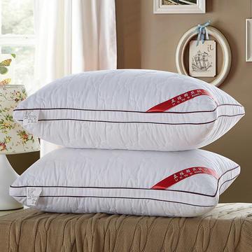 凯罗家纺 14-5号立体滚边羽丝枕