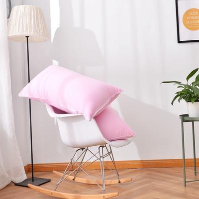 A(22) 花边水洗枕 (45*73cm) 枕头 枕芯 粉