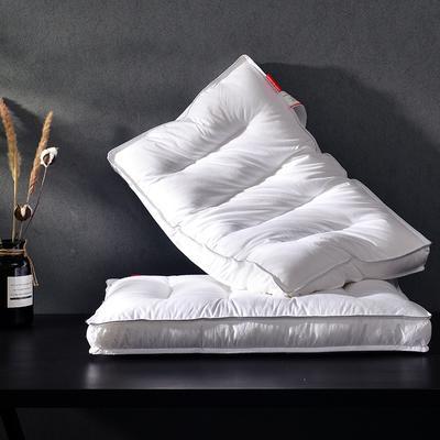 2018 凯罗B(07)魔方立体羽丝枕 枕头 枕芯 可水洗 魔方立体羽丝枕