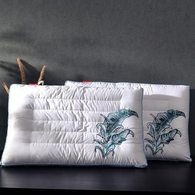 2018 凯罗B(08)茵蓝羽丝枕头 枕芯 可水洗 软枕芯 茵蓝