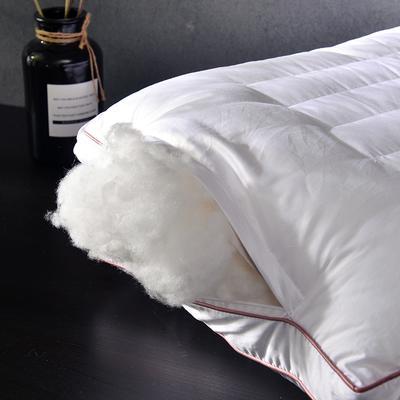 2018 凯罗B(08)茵蓝羽丝枕头 枕芯 可水洗 软枕芯 繁花