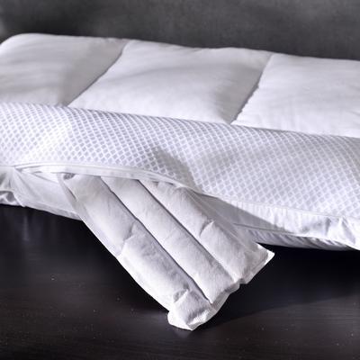 2018 凯罗C(12)三区荞麦枕  羽丝绒枕芯 护颈枕头 三区荞麦枕