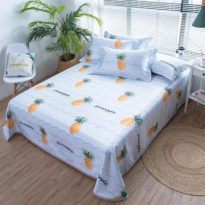 2019春夏新品冰丝席系列 2.0m(6.6英尺)床 清香菠萝