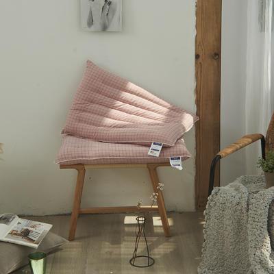 2020新款护颈柔丝枕羽丝绒枕B10枕头枕芯(48*74cm/个) 护颈柔丝枕