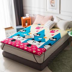 法莱绒床垫 0.9*2.0 爱心猫