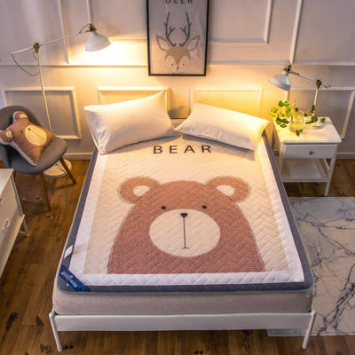 2018新款超柔床垫 0.9*2.0 大熊