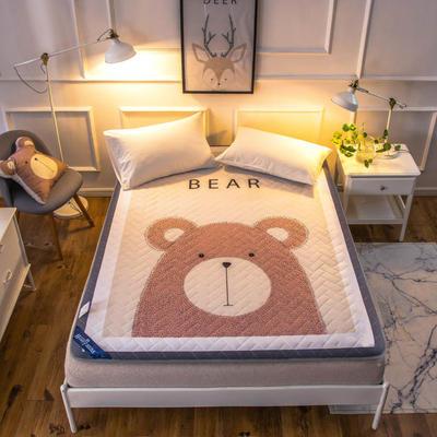 2019新款超柔床垫 90*200cm 大熊