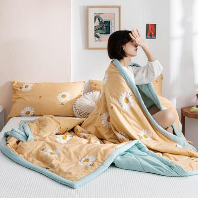 2020新款水洗棉印花夏被 150x200cm 暖暖花开