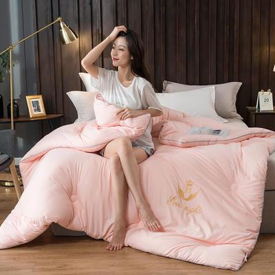 2020新款皇冠绣花冬被系列 150x200cm(3斤) 皇冠-玉色