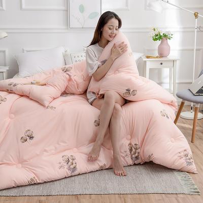 2020新款棉花被冬被被子被芯-朵棉系列 150x200cm5斤 棉朵-玉
