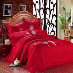 婚庆系列 床单款1.8m(6英尺)床 金童玉女