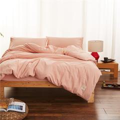 春皖全棉色织布标系列四件套 1.35m(4.5英尺)床(小号三件套) 黯香红
