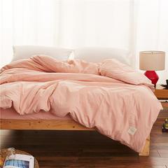 春皖全棉色织布标系列单被套 150x200cm 黯香红
