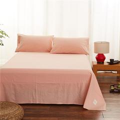 春皖全棉色织布标系列单床单 160cmx230cm 黯香红