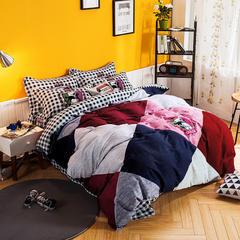 全棉喷气磨毛标准和加大 定版尺寸 1.8m(6英尺)床 8爱洛克