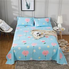 全棉老粗布床单 160cmx245cm 朝气蓬勃