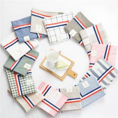 全棉色织水洗棉TB单枕套 48cmX74cm 枕套一只15元