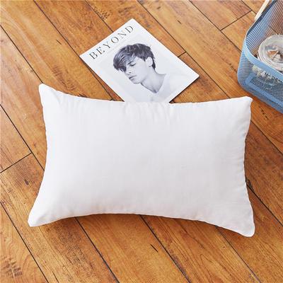 全棉色织儿童枕套枕芯 48cmX74cm 30*40枕芯