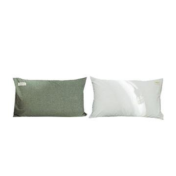 网红款全棉色织水洗棉单枕套