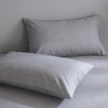 全棉老粗布枕套