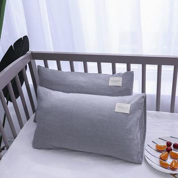 全棉色织儿童枕套枕芯