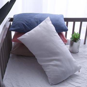全棉色织儿童枕套/枕芯一只装 30cmX50cm 40cmX60cm  48cmX74cm