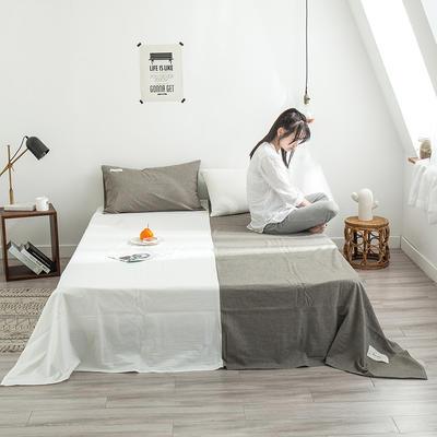 网红款全棉色织水洗棉单床单 120cmx230cm 时光年轮