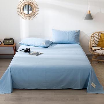 全棉染色水洗棉单床单