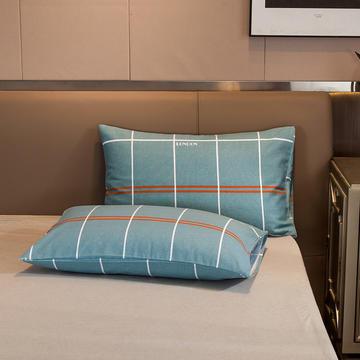 2020新款全棉老粗布单枕套