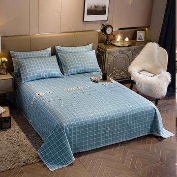 2020新款全棉加厚老粗布单床单