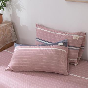 2020新款全棉色织系列-单枕套
