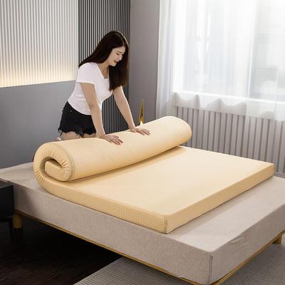 2020新款高密硬款海绵基础款床垫 120*200cm厚度4cm 黄色