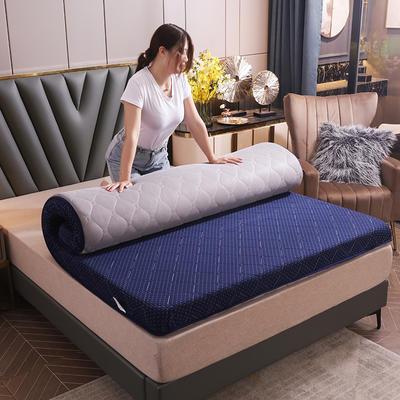 2020新款乳胶海绵系列床垫-终版 120*200cm厚度5.5cm 宝蓝
