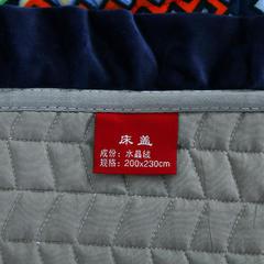 2018秋冬保暖多功能床盖法莱绒盖毯床垫子毯子 200cmx230cm 爱之舞