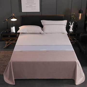 老粗布三件套凉席加厚三件套床单枕套(暗色系)