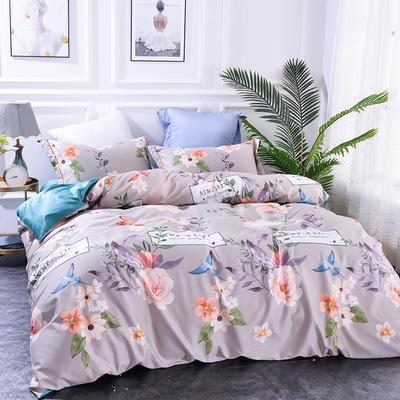 2019新款60长绒棉印花系列 1.8m(6英尺)床 香沐满庭