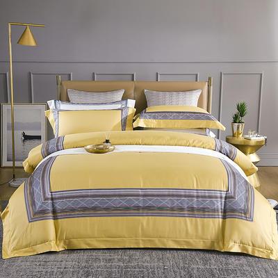 60s长绒棉拼接款 流金岁月 1.8m(6英尺)床 流金岁月