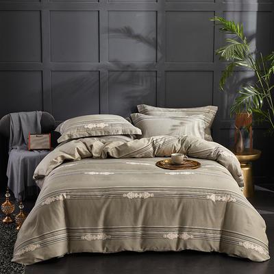 60长绒棉印花款 锦瑟-绿 1.8m(6英尺)床 锦瑟-绿