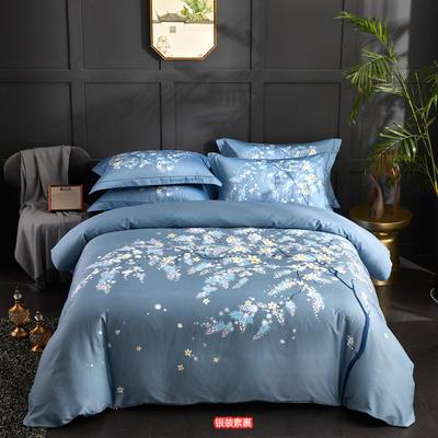 60长绒棉印花款 银装素裹 1.8m(6英尺)床 银装素裹
