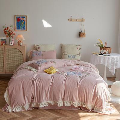 2020新款宝宝绒四件套 1.2m床单款三件套 丽莎