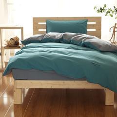 纯色磨毛三件套 1.2m(4英尺)床 贝加尔