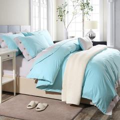 美式纯色磨毛四件套系列 标准(1.5-1.8m)床 马尔代夫