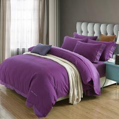 美式纯色磨毛四件套系列 标准(1.5-1.8m)床 曼陀罗