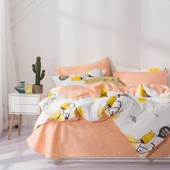 2018春夏新品 喷气全棉四件套 1.5m(5英尺)床 可爱米妮
